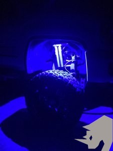 RHINO LIGHTS Ultraviolet UV Black Light LED Rock Light Kit