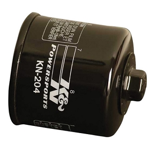 K&N OIL FILTER KAWASAKI BLACK