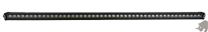 Rhino Lights Blackout Single Row LED Light Bar