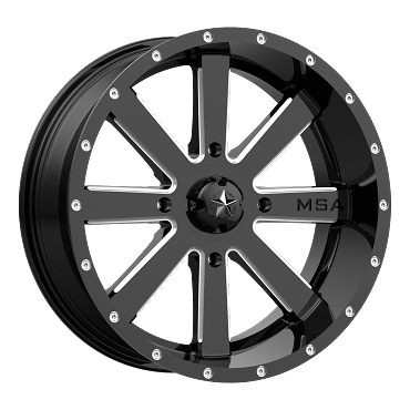 MSA M34 FLASH Gloss Black