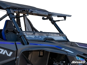 SATV Honda Talon 1000 Scratch Resistant Flip Windshield