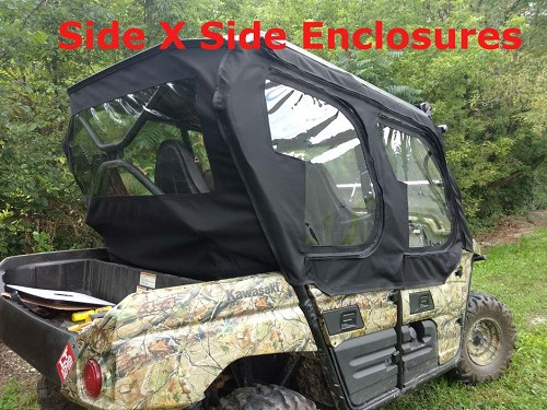 Side by side enclosures Kawasaki Teryx 4 Utv Full Cab Enclosure Sides Only