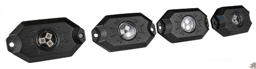 Rhino Lights BLUETOOTH  RGB LED ROCK LIGHT KITS - MATRIX SERIES