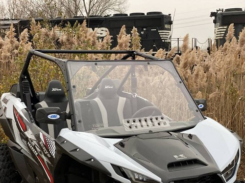 EMP Teryx KRX 1000 Windshield with vent (Hard Coated on Both Sides)