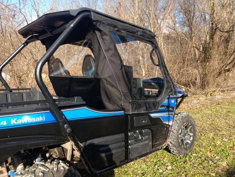 Side By Side Enclosures Kawasaki Teryx 2 Utv Cab Enclosure Sides Only