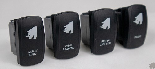 Rhino Lights Contura V Lower Independent Rocker Switch