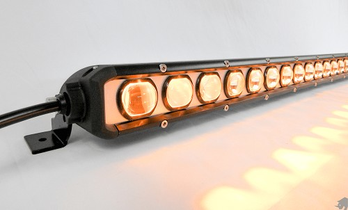 Rhino Lights Knight Rider Single Row LED Light Bar